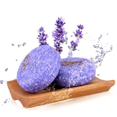 Natural Shampoo Soap Non-Silicone Oil Hair Washday Plant Extract Scalp Protect Homeliving Bathroom Lavender 55g