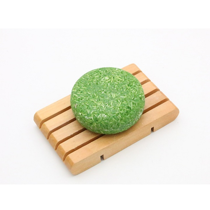 Natural Shampoo Soap Non-Silicone Oil Hair Washday Plant Extract Scalp Protect Homeliving Bathroom Green Tea 55g