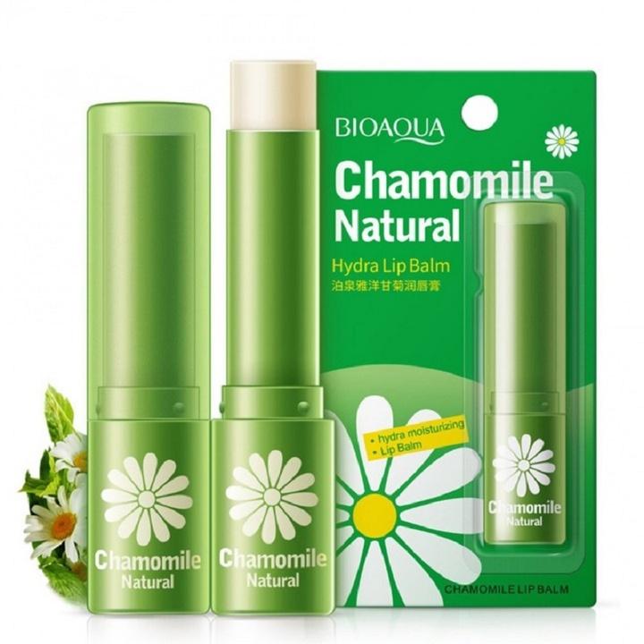 Natural Plant Moisturizing Lip Balm Lipstick Portable Women Winter Lip Care Chamomile Chamomile