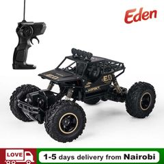1:16 4WD RC Car Alloy Crawler Remote Control SUV High Speed Climb Trucks Off-Road Children Toys Black/Silver/Gold 32cm*22cm*19cm