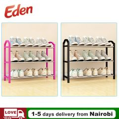 Best Quality Shoe Rack Assemble Large Capacity Portable Home Living Storage BLACK