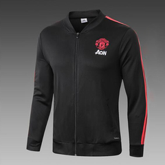 FH new Manchester united shirt zipper Jacket black s