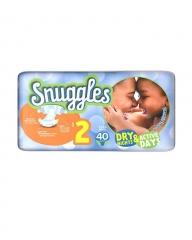 SNUGGLES BABY DIAPERS MINI (SIZE 2) ECONOMY PACK 40'S