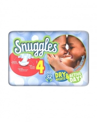 SNUGGLES BABY DIAPERS MAXI (SIZE 4) ECONOMY PACK 32'S