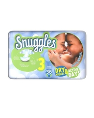 SNUGGLES BABY DIAPERS MIDI (SIZE 3) ECONOMY PACK 36'S