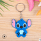 02--hot cartoon soft rubber keychain Creative small gift PVC car key ring