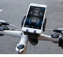 Bicycle motorcycle car phone bracket navigation bracket riding equipment accessories