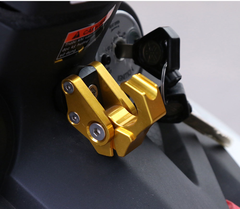 Motorcycle helmet luggage hook, modified accessories CNC aluminum alloy thick foldable hook one one