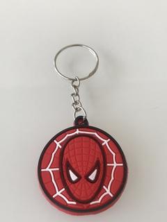 Superman,Spiderman,Batman hot cartoon soft rubber keychain Creative small gift PVC car key ring Spiderman 4cm-5cm