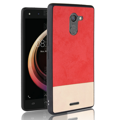 Infinix Hot 4 X557 Mobile Shell Cover Color Matching Stick Anti-fall All-inclusive Soft Shell red one size