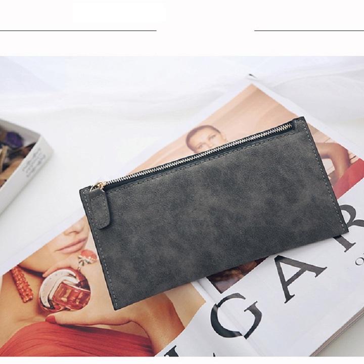 Ms. fashion Wallet Zipper bag simple Purse the new lady long wallet handbags bag1 one size