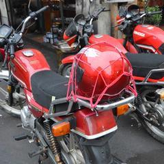 Motorcycle luggage net helmet net bag fuel tank net cover sundries mesh cover elastic mesh rope