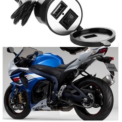Top Quality Car Universal Waterproof 12V To 5V 1.5A Motorcycle Smart Phone GPS USB Charger