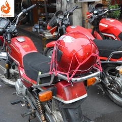 Motorcycle luggage net helmet net bag fuel tank net cover sundries mesh cover elastic mesh rope one one