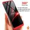 For OPPO F5 Case TPFIX PC Hard 360 Full Body Protect Cover For OPPO  A79 A75 A73 F7 Youth F3 F1S  F9 red oppo F5