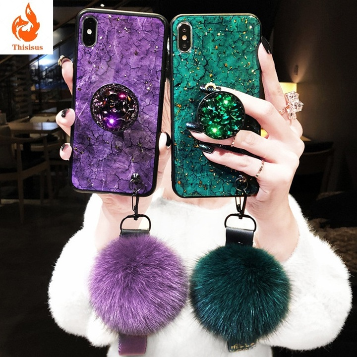 Huawei nova3i mobile phone case Silicone honor8X MAX Epoxy soft v10 protective cover Y9 green huawei p20