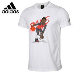 New Arrival 2019 Adidas Men's T-shirts short sleeve Sportswear white01 M Cotton