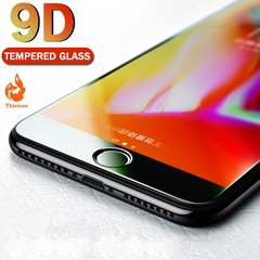 9D Protective Glass for iPhone 7 Screen Protector iPhone 8 Tempered Glass on iPhone X 6 6s 8 Glass one size iphone6/6s-4.7