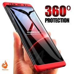 360 Full Coverage Phone Case For Samsung Galaxy S8 Plus S6 S7 Edge PC Shockproof Cover For  S9 Plus pic1 samsung s9