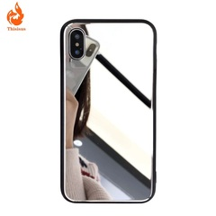 Makeup mirror glass mirror Huawei mobile phone case for oppo/vivo apple anti-fall pic1 iphone7/8