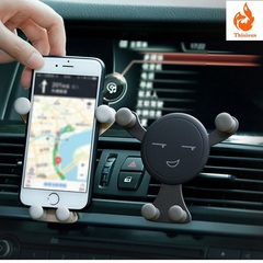 Gravity Bracket Support Car Phone Holder for Phone Stretch Telescopic Clip Mount Stand Phone Holder one