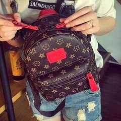 Inspired Tag Backpack Fashion Bag Pack Beg Bags Lady Women PU Bagpack Wanita Red Tag one size