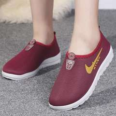 2019 Fashion Women's Shoes Breathable Sneakers Sport Shoes  Running shoes red 36