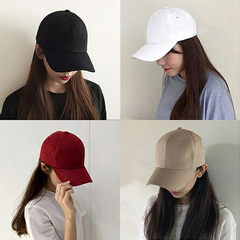 Men Women Solid Embroidery Dad Hat Baseball Cap Style Fashion hip hop Snapback Hat red