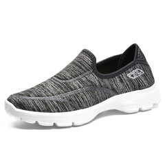 Soft bottom breathable sneakers casual shoes non-slip shoes comfortable gray 40