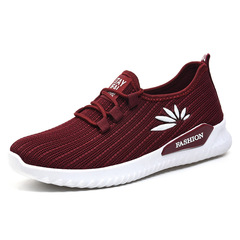 Running shoes casual shoes comfortable wear shoes soft bottom non-slip sports shoes sneakers Black 35