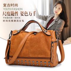 2019 explosion models women's handbags fashion ladies shoulder bag yellow 27cm*13cm*20cm