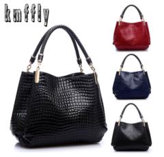 Famous Designer Brand Bags Women Leather Handbags 2019 Luxury Ladies Purse Fashion Shoulder BLACK ordinary