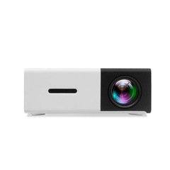 YG - 300 LCD Projector 400 - 600LM 320 x 240 Home black 1080P