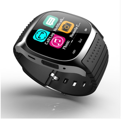 Bluetooth Wrist Smart Watch M26 Smartwatch Call Music Pedometer Fitness Tracker For Android black