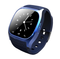 Bluetooth Wrist Smart Watch M26 Smartwatch Call Music Pedometer Fitness Tracker For Android blue