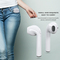 Wireless Bluetooth Earphone with Micphone and Charging Box for iphone white