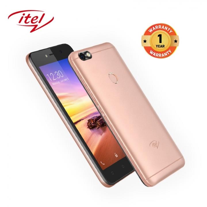 "Itel A32F 10TH,5"",8GB, Fingerprint sensor, smart phone Gold"