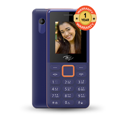 Itel 2190 Wireless Fm, ,dual Sim dark blue