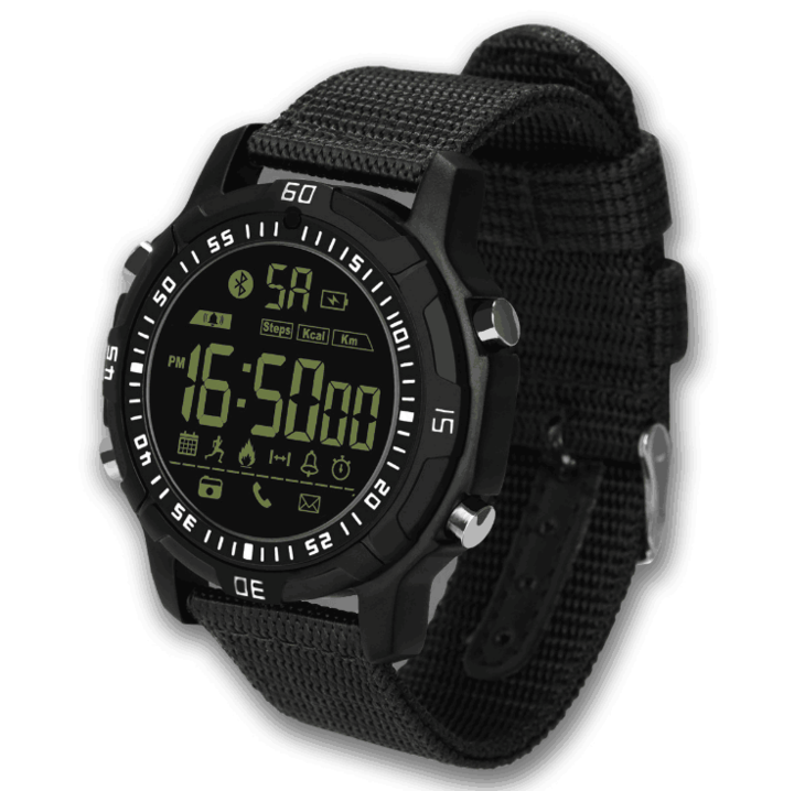 android IOS Super long standby Smartwatch Health monitoring Step by step Motion tracking Black 45.7*42.5*13.0mm