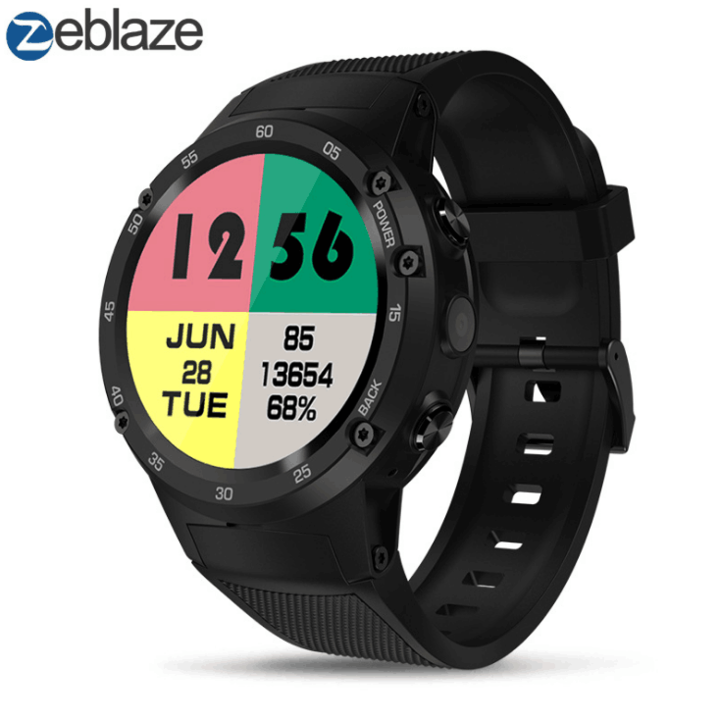 Zeblaze 1.39 inch 1+16GB memory 4G Smartwatch Social Entertainment black 48.5*48.5*15.9mm