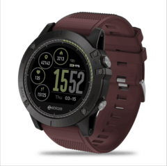 Zeblaze Android IOS Heart rate monitoring waterproof Intelligent Watch Step by step red 50*50*14.8mm