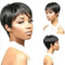 Favored One - New Fashion bobo black short hair wigs daily business female Beauty Wigs Wigheat black same size