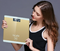 Favored One - 1 piece New Digital Electronic Glass LED weighing scale full same size
