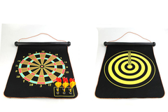 Favored One - Indoor 15 17 inch sport target dart magnetic flocking dartboard board with 6pcs dart Same as photo 15 inch