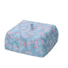Foldable food covers keep warm aluminum lid dishes food insulation cover kitchen accessories tools color 1 same size