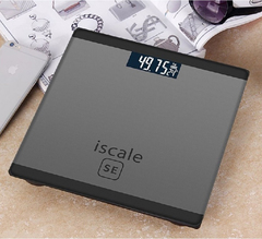Favored One - 1 piece New Digital Electronic Glass LED weighing scale grey same size