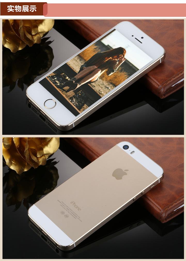 Certified Refurbished : iPhone 5S -32GB +1GB -8 MP- 4 Inch pink