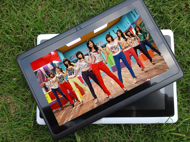 Quad Core 7 Inch Tablet Pc A33 Q88 III 6 Colors Android 4.4 RAM 512M ROM 4GB for Students Teenagers RED 11
