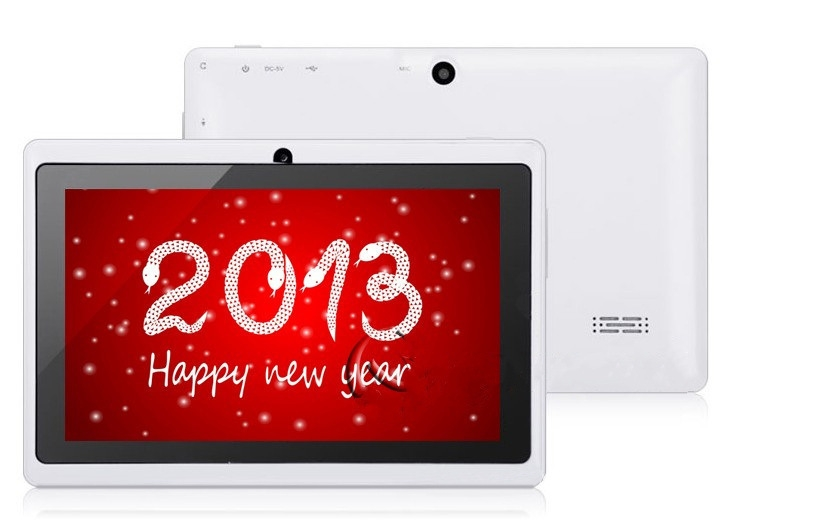 Quad Core 7 Inch Tablet Pc A33 Q88 III 6 Colors Android 4.4 RAM 512M ROM 4GB for Students Teenagers RED 9