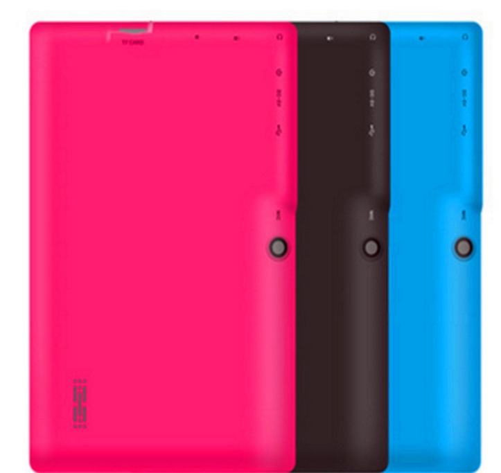 Quad Core 7 Inch Tablet Pc A33 Q88 III 6 Colors Android 4.4 RAM 512M ROM 4GB for Students Teenagers RED 8